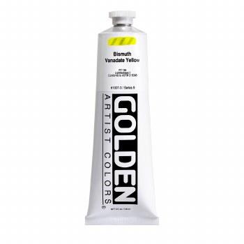 Golden Heavy Body Acrylics, 5 oz, Bismuth Vanadate Yellow