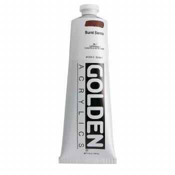 Golden Heavy Body Acrylics, 5 oz, Burnt Sienna