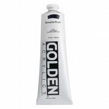 Golden Heavy Body Acrylics, 5 oz, Dioxazine Purple