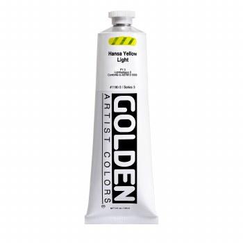 Golden Heavy Body Acrylics, 5 oz, Hansa Yellow Light