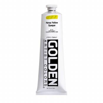 Golden Heavy Body Acrylics, 5 oz, Hansa Yellow Opaque