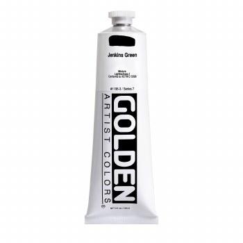 Golden Heavy Body Acrylics, 5 oz, Jenkins Green
