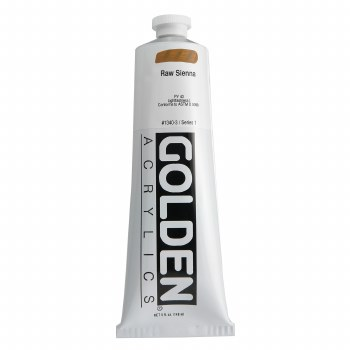 Golden Heavy Body Acrylics, 5 oz, Raw Sienna