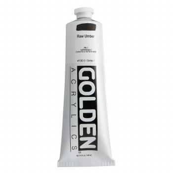 Golden Heavy Body Acrylics, 5 oz, Raw Umber