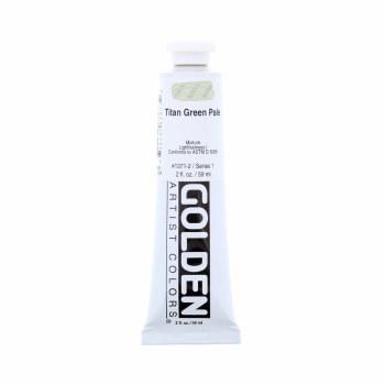 Golden Heavy Body Acrylics, Titan Green Pale