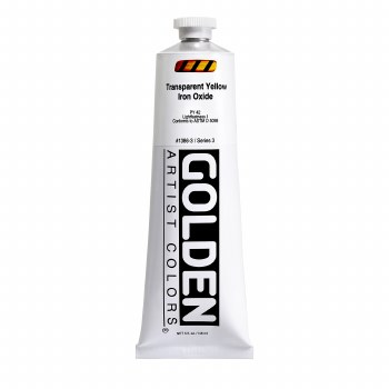 Golden Heavy Body Acrylics, 5 oz, Transparent Yellow Iron Oxide