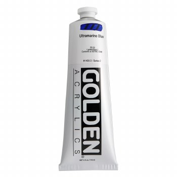Golden Heavy Body Acrylics, 5 oz, Ultramarine Blue
