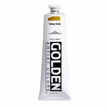 Golden Heavy Body Acrylics, 5 oz, Yellow Oxide