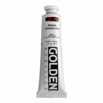 Golden Heavy Body Acrylics, 2 oz, Alizarin Crimson Hue