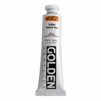 Golden Heavy Body Acrylics, 2 oz, Indian Yellow Hue