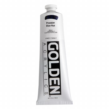 Golden Heavy Body Acrylics, 5 oz, Prussian Blue Hue