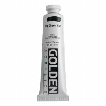 Golden Heavy Body Acrylics, 2 oz, Sap Green Hue