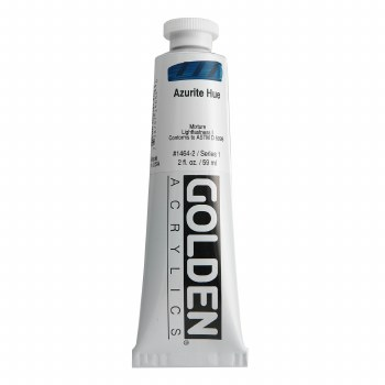 Golden Heavy Body Acrylics, 2 oz, Azurite Hue