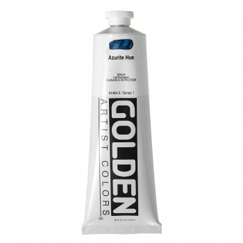 Golden Heavy Body Acrylics, 5 oz, Azurite Hue