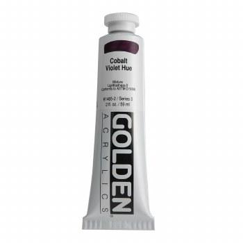 Golden Heavy Body Acrylics, 2 oz, Cobalt Violet Hue