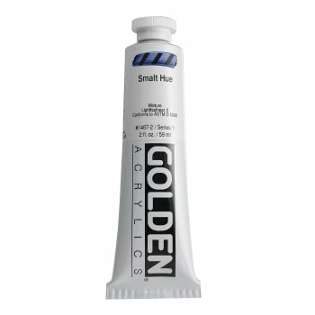 Golden Heavy Body Acrylics, 2 oz, Smalt Hue