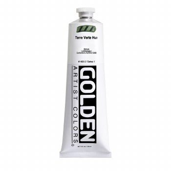 Golden Heavy Body Acrylics, 5 oz, Terre Verte Hue