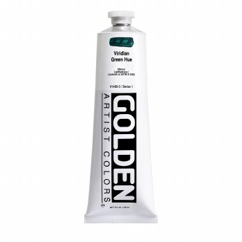 Golden Heavy Body Acrylics, 5 oz, Viridian Green Hue