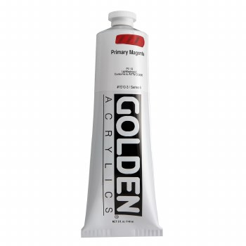 Golden Heavy Body Acrylics, 5 oz, Primary Magenta