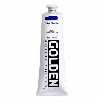 Golden Heavy Body Acrylics, 5 oz, Cobalt Blue Hue
