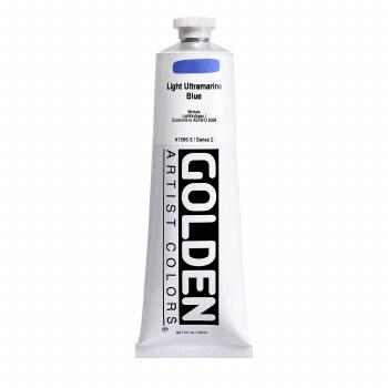 Golden Heavy Body Acrylics, 5 oz, Light Ultramarine Blue