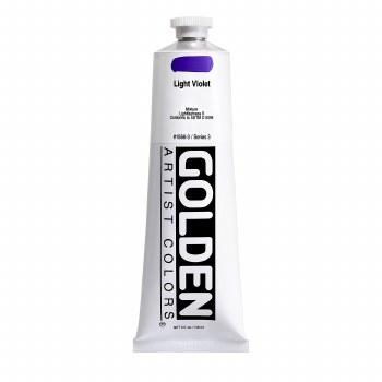 Golden Heavy Body Acrylics, 5 oz, Light Violet