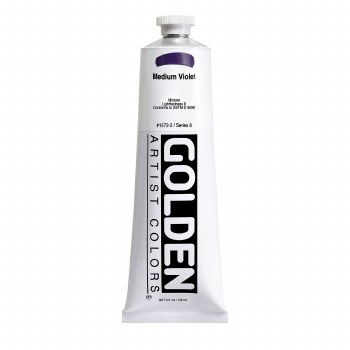 Golden Heavy Body Acrylics, 5 oz, Medium Violet