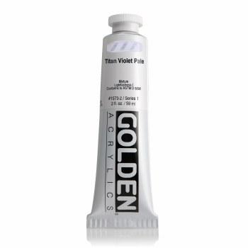 Golden Heavy Body Acrylics, Titan Violet Pale