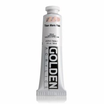 Golden Heavy Body Acrylics, Titan Mars Pale