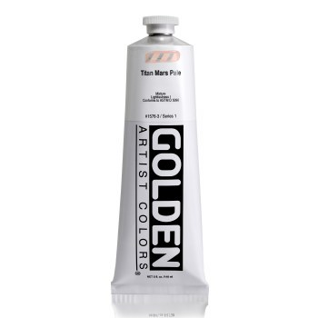 Golden Heavy Body Acrylics, 5 oz, Titan Mars Pale