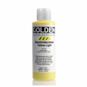 Golden Fluid Acrylics, Benzimidazolone Yellow Light
