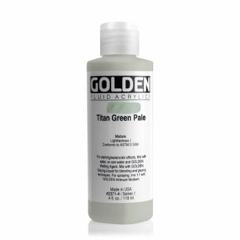Golden Fluid Acrylics, Titan Green Pale