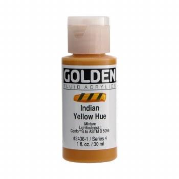 Golden Fluid Acrylics, Indian Yellow Hue