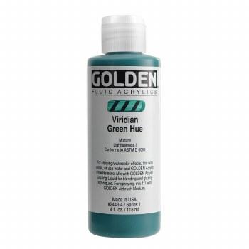 Golden Fluid Acrylics, Viridian Green