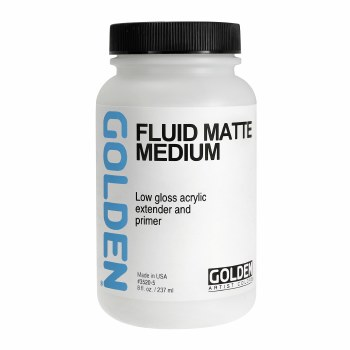 Fluid Matte Medium, 8 oz.