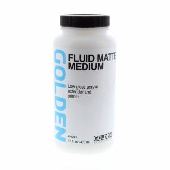 Fluid Matte Medium, Pint