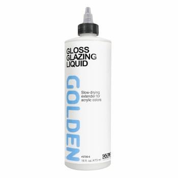 Acrylic Glazing Liquid, Gloss, Pint