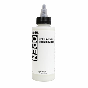 OPEN Acrylic Medium, 4 oz. Bottle - Gloss