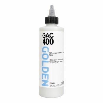 GAC 400 - Acrylic Polymer for Stiffening Fabrics, 8 oz.