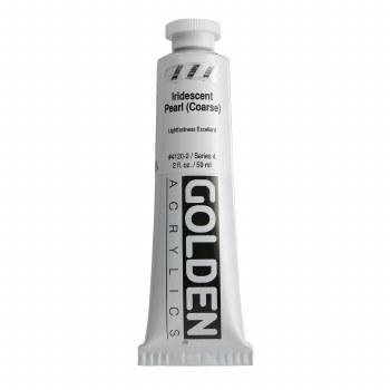 Golden Iridescent Acrylics, 2 oz, Pearl Coarse
