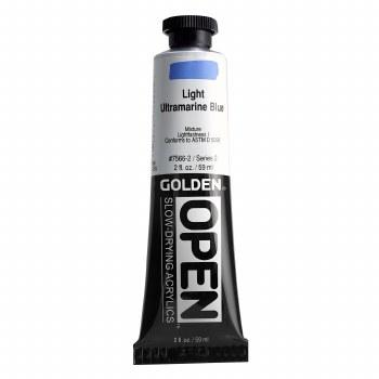 Golden OPEN Acrylics, 2 oz, Light Ultramarine Blue
