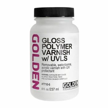 Polymer Varnishes, Gloss, 8 oz.