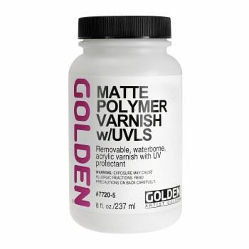 Polymer Varnishes, Matte, 8 oz.
