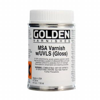 Mineral Spirit Acrylic Varnishes, Gloss, 4 oz.