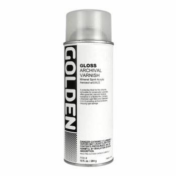 Archival Varnish Spray, Gloss - 10 oz. Spray Can