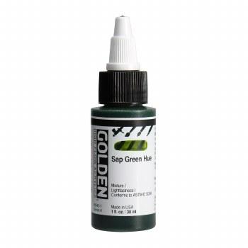 Golden High Flow Acrylics, 1 oz, Sap Green Hue