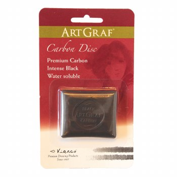 ArtGraf Water-Soluble Graphite & Carbon, Water-Soluble Carbon - Carded