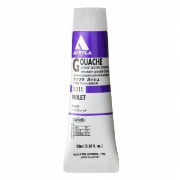 Acryla Gouache, 20ml Tubes, Violet