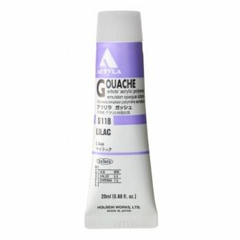 Acryla Gouache, 20ml Tubes, Lilac