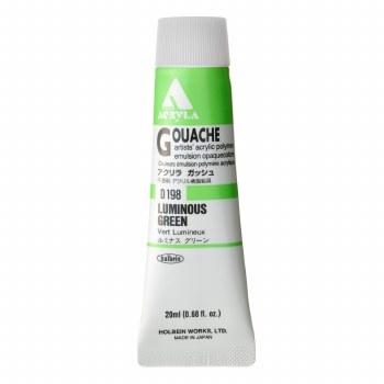 Acryla Gouache, 20ml, Luminous Green